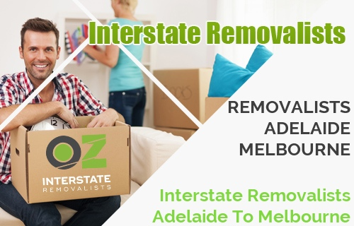 Interstate Removalists Adelaide To Melbourne