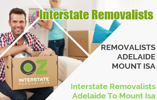 Interstate Removalists Adelaide To Mount Isa