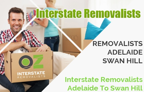 Interstate Removalists Adelaide To Swan Hill