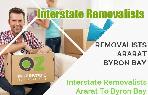 Interstate Removalists Ararat To Byron Bay