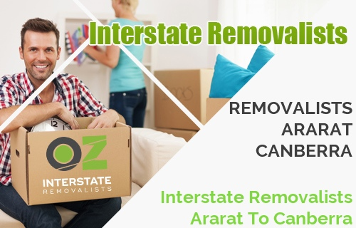 Interstate Removalists Ararat To Canberra