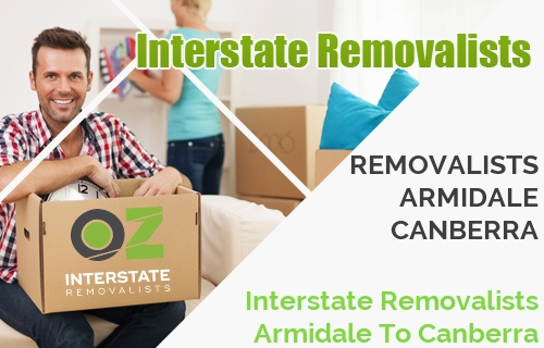 Interstate Removalists Armidale To Canberra