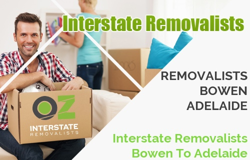Interstate Removalists Bowen To Adelaide