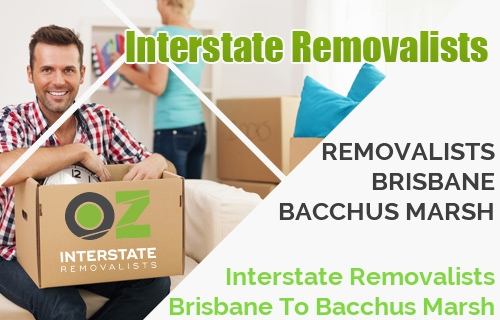 Interstate Removalists Brisbane To Bacchus Marsh