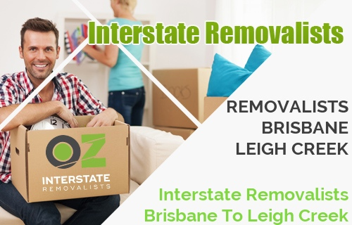 Interstate Removalists Brisbane To Leigh Creek