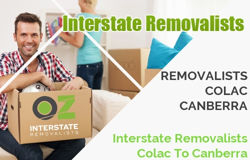 Interstate Removalists Colac To Canberra