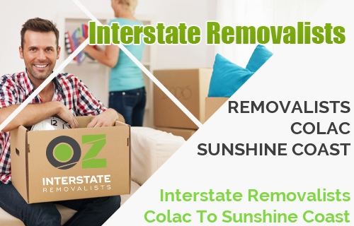 Interstate Removalists Colac To Sunshine Coast