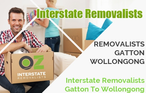 Interstate Removalists Gatton To Wollongong