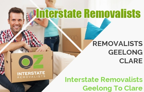 Interstate Removalists Geelong To Clare