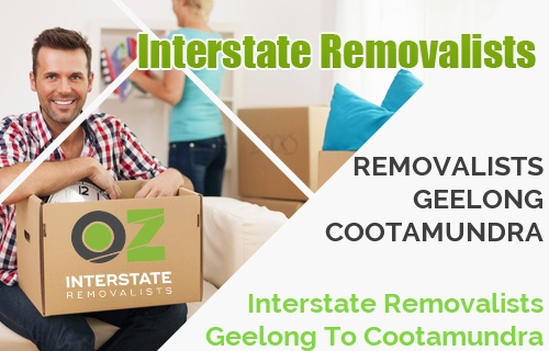 Interstate Removalists Geelong To Cootamundra
