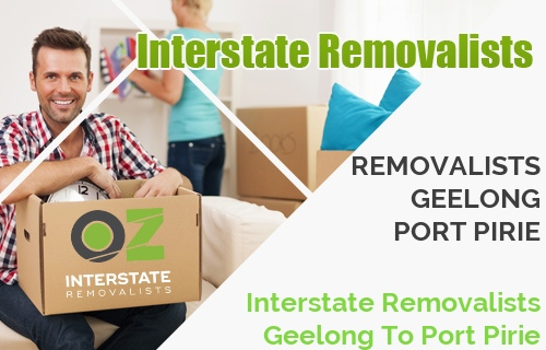 Interstate Removalists Geelong To Port Pirie