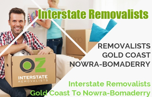 Interstate Removalists Gold Coast To Nowra-Bomaderry