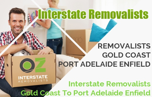 Interstate Removalists Gold Coast To Port Adelaide Enfield
