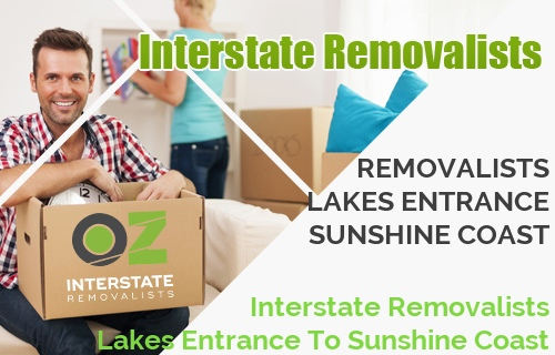 Interstate Removalists Lakes Entrance To Sunshine Coast