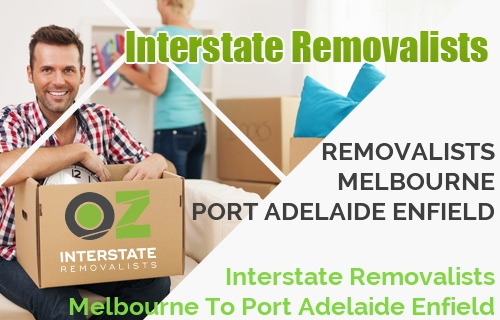 Interstate Removalists Melbourne To Port Adelaide Enfield