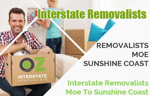 Interstate Removalists Moe To Sunshine Coast