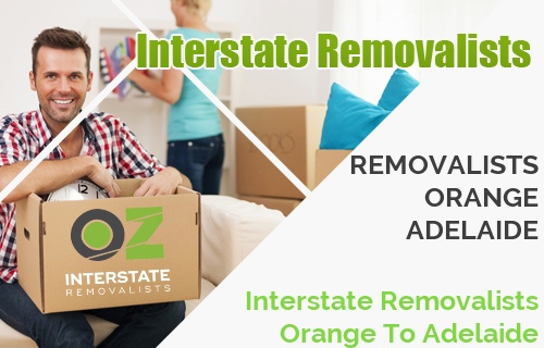 Interstate Removalists Orange To Adelaide