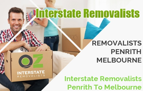 Interstate Removalists Penrith To Melbourne