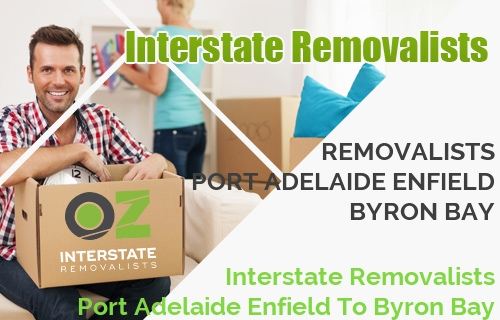 Interstate Removalists Port Adelaide Enfield To Byron Bay