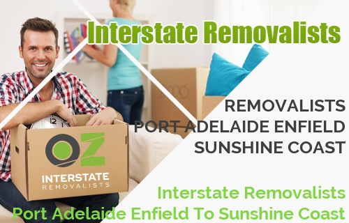 Interstate Removalists Port Adelaide Enfield To Sunshine Coast