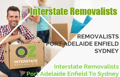 Interstate Removalists Port Adelaide Enfield To Sydney