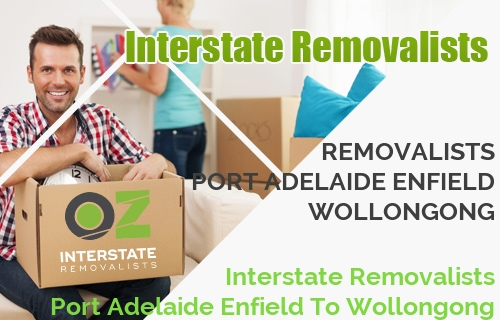 Interstate Removalists Port Adelaide Enfield To Wollongong