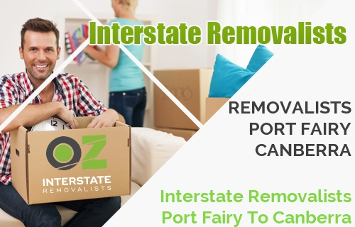 Interstate Removalists Port Fairy To Canberra