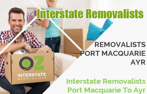 Interstate Removalists Port Macquarie To Ayr