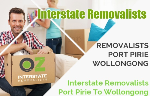 Interstate Removalists Port Pirie To Wollongong