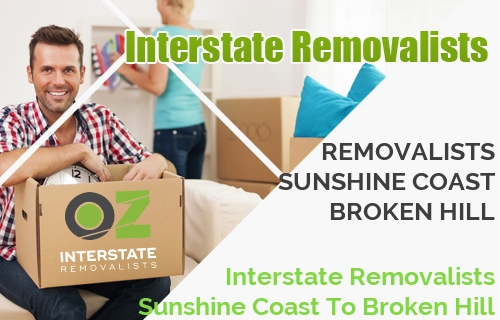 Interstate Removalists Sunshine Coast To Broken Hill