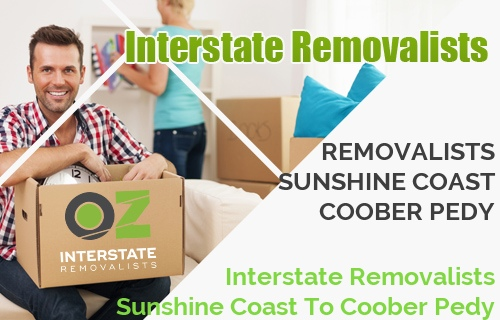 Interstate Removalists Sunshine Coast To Coober Pedy