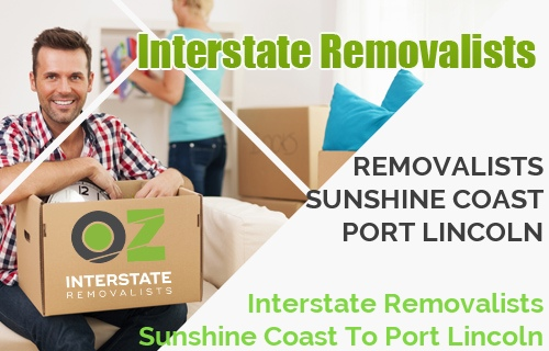 Interstate Removalists Sunshine Coast To Port Lincoln