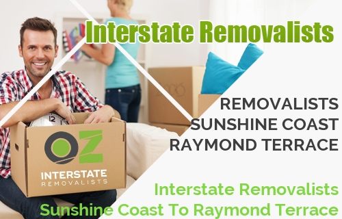 Interstate Removalists Sunshine Coast To Raymond Terrace