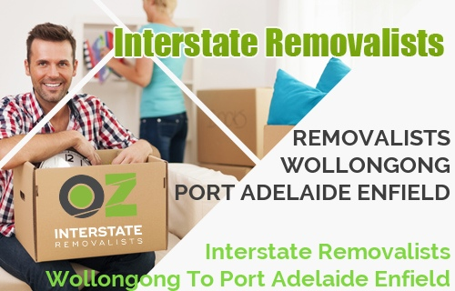 Interstate Removalists Wollongong To Port Adelaide Enfield