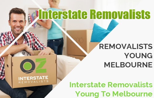 Interstate Removalists Young To Melbourne