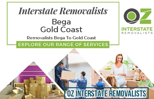 Interstate Removalists Bega To Gold Coast