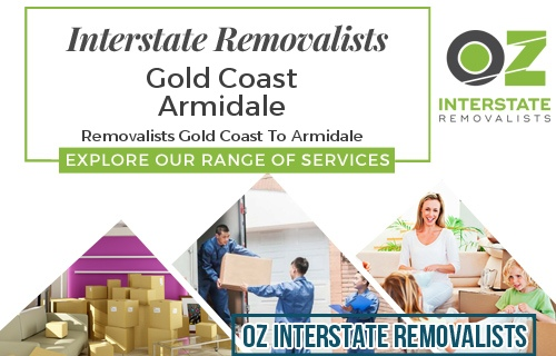 Interstate Removalists Gold Coast To Armidale