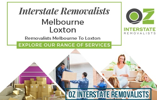 Interstate Removalists Melbourne To Loxton