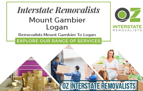 Interstate Removalists Mount Gambier To Logan
