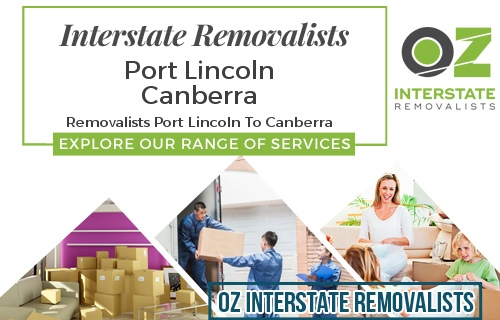 Interstate Removalists Port Lincoln To Canberra