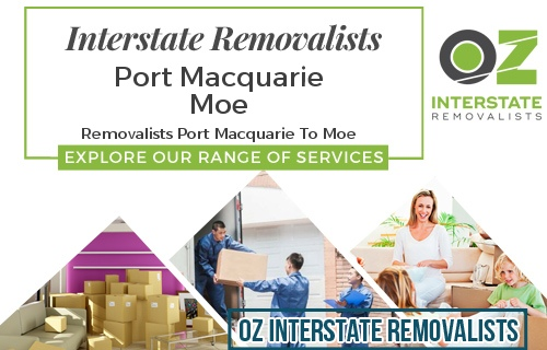 Interstate Removalists Port Macquarie To Moe