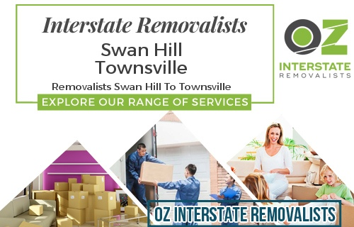 Interstate Removalists Swan Hill To Townsville