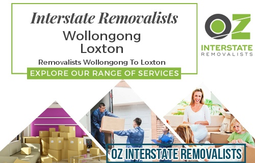 Interstate Removalists Wollongong To Loxton