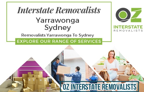 Interstate Removalists Yarrawonga To Sydney