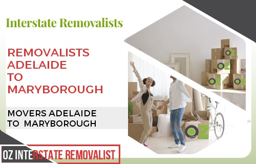 Removalists Adelaide To Maryborough