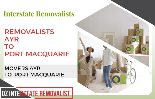 Removalists Ayr To Port Macquarie