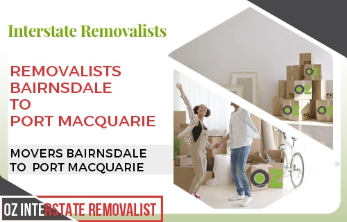 Removalists Bairnsdale To Port Macquarie