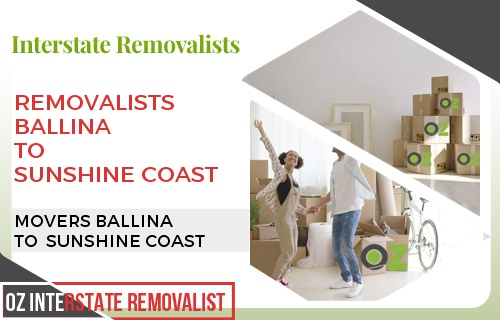 Removalists Ballina To Sunshine Coast