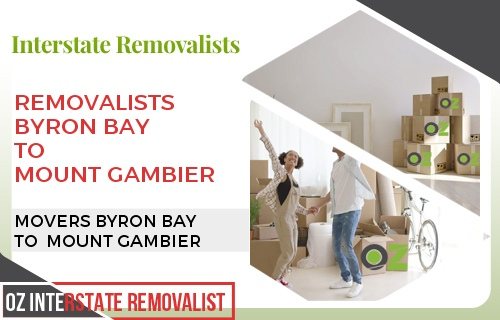 Removalists Byron Bay To Mount Gambier