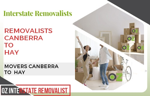 Removalists Canberra To Hay